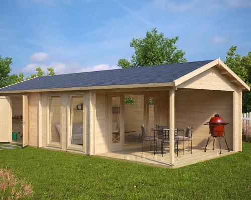 Large Garden Room with Shed