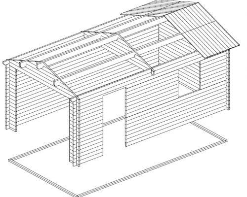 Timber Garage A