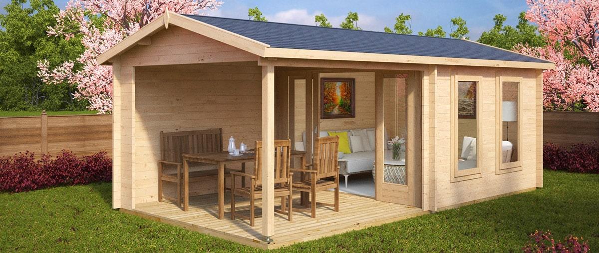Garden house Nora E with terrace
