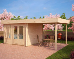 Contemporary Garden Room with canopy Lucas D