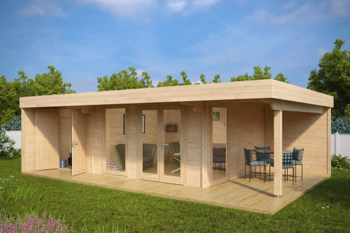 Luxury Summer House with Storage Room Hansa Lounge XXL