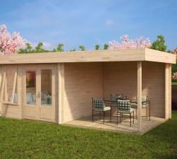 Modern Garden Room with Veranda Lucas D