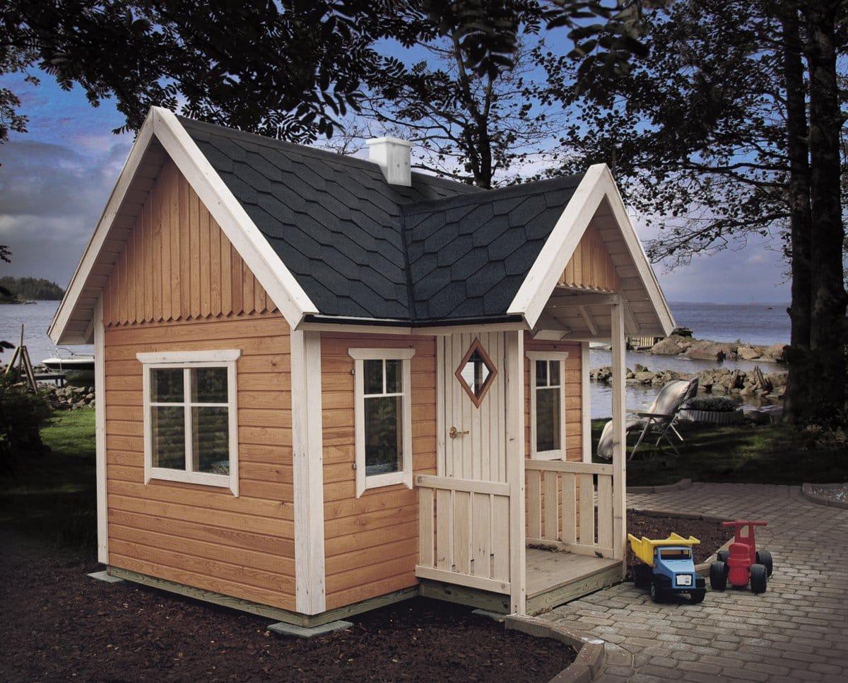 Garden playhouse mario summer house 24 for Children s garden sheds