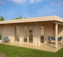 Summer House with Sauna Hansa Lounge XXL