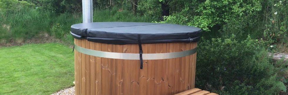 Kirami Easy Wood Fired Hot Tub in Devon