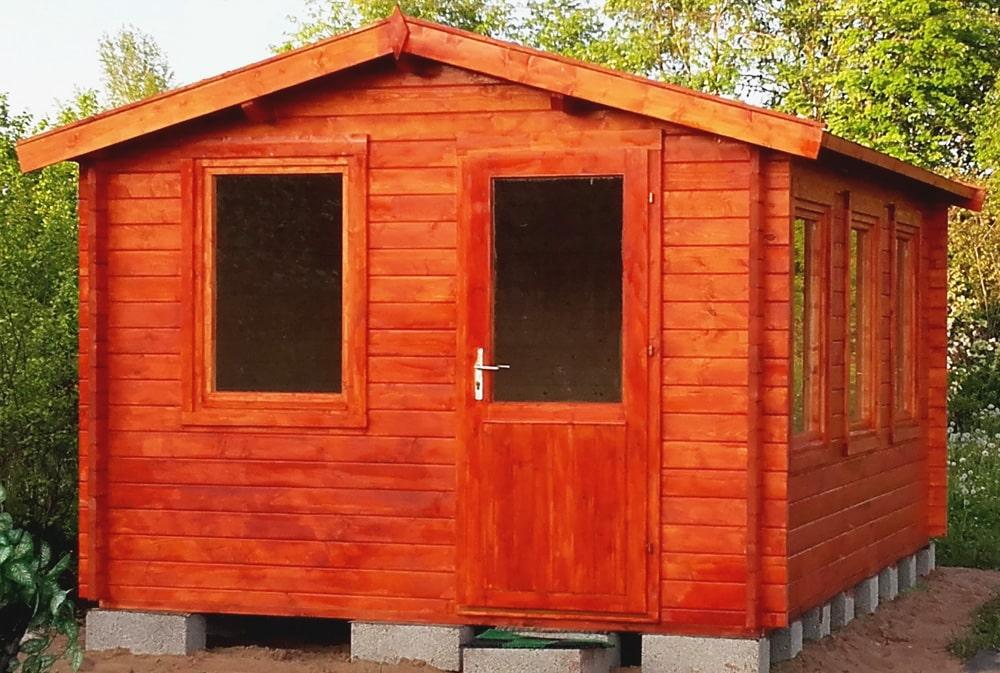Self build garden room