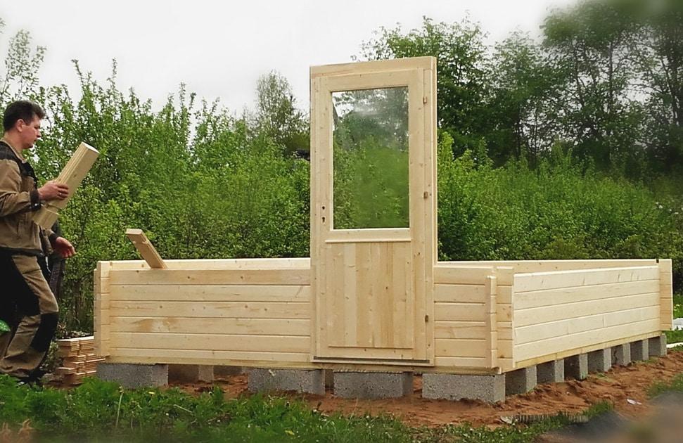 Installing a Self Build Garden Room