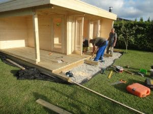 Assembly of a Garden Room Summerhouse24.co.uk
