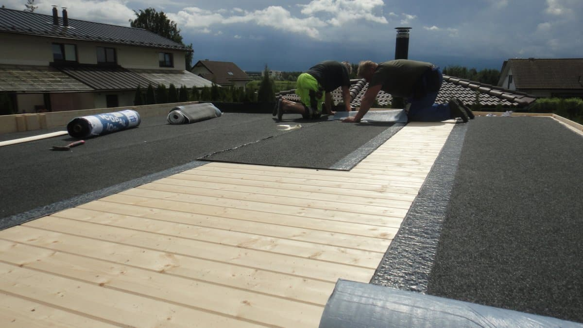 How To Install Flat Roofs With Parapets For Summerhouse24