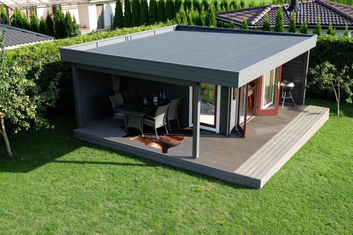The Hansa Lounge XL Garden Room with Extended Sundeck