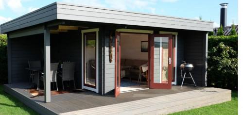 The Hansa Lounge XL Garden Room with Extended Sundeck4
