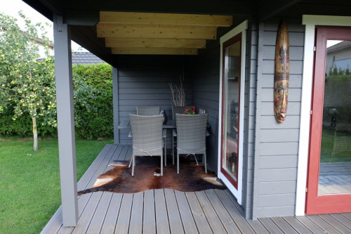 The Hansa Lounge XL Garden Room with Extended Sundeck5