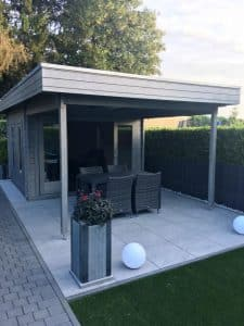 The Lucas E Garden Room with Canopy