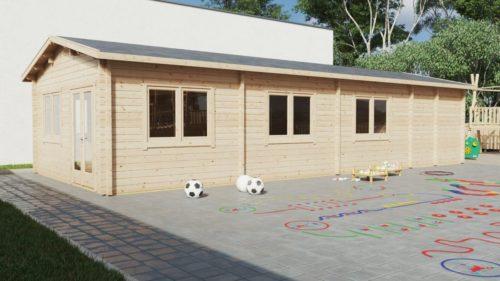 CLASS ROOM Timber Classroom Building