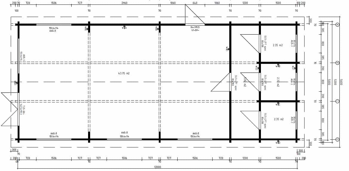 Log Cabin Classroom Ground Plan