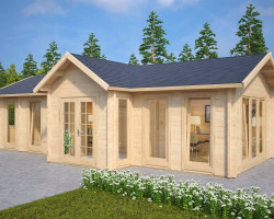 Log Cabin Hansa Office