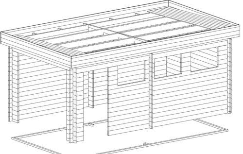 DIY Wooden Garage C