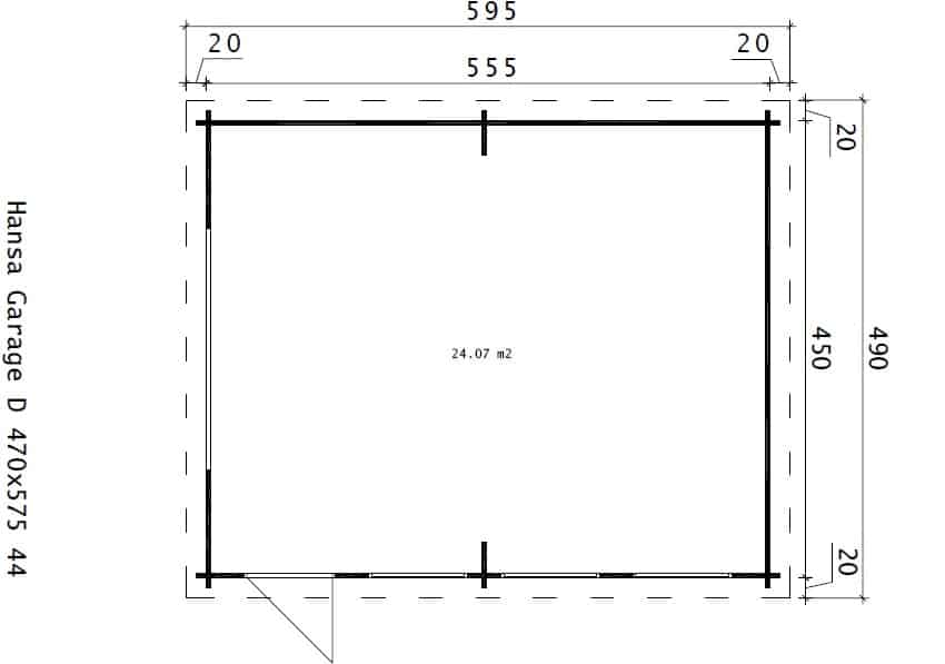 Garage D Ground Plan