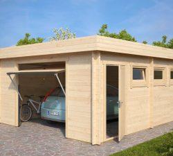 Modern Garage D with Up and Over Door