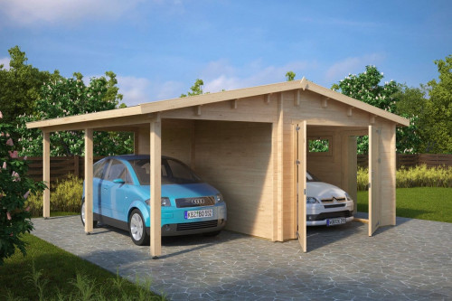Garage And Carport Combination Type G