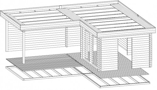 Corner Deluxe A 3D