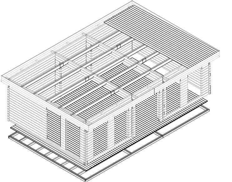 Garden Room B 3D