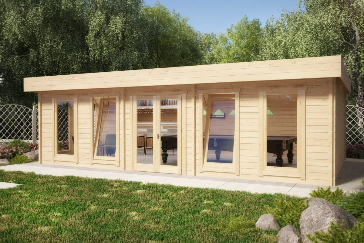 Log cabins inside pictures joy studio design gallery for Best garden rooms uk