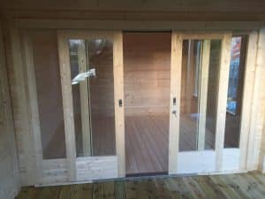 Garden Room with Shed and Veranda Summerhouse24 3