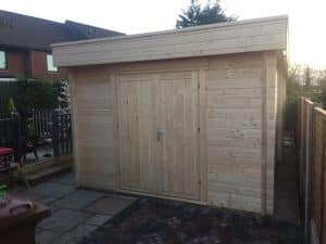 Garden Room with Shed and Veranda Summerhouse24 4