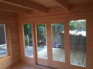 Garden Room with Shed and Veranda Summerhouse24 6