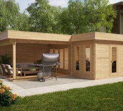 summer house 24 diy garden buildings summer houses uk. Black Bedroom Furniture Sets. Home Design Ideas