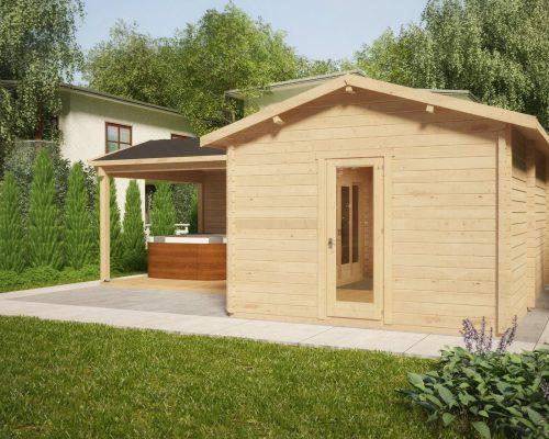 Corner Garden Room with Large Veranda Hansa B