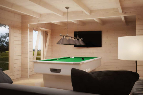Hansa Garden Pool Room Interior