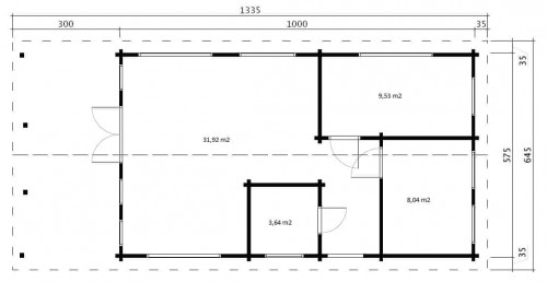 Holiday A ground plan