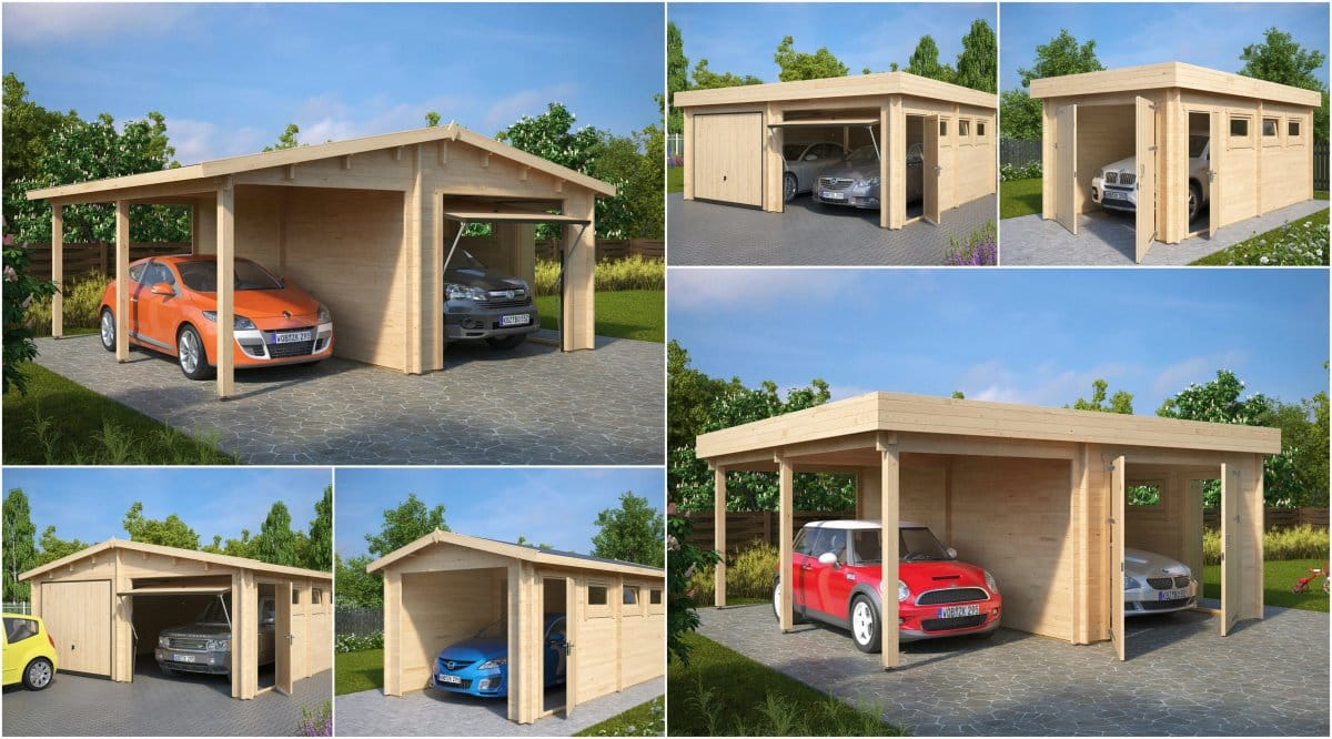 Advantages of a Wooden Garage