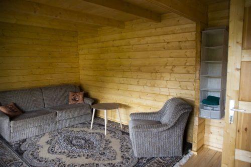 Garden Sauna Cabin A 22m2 70mm