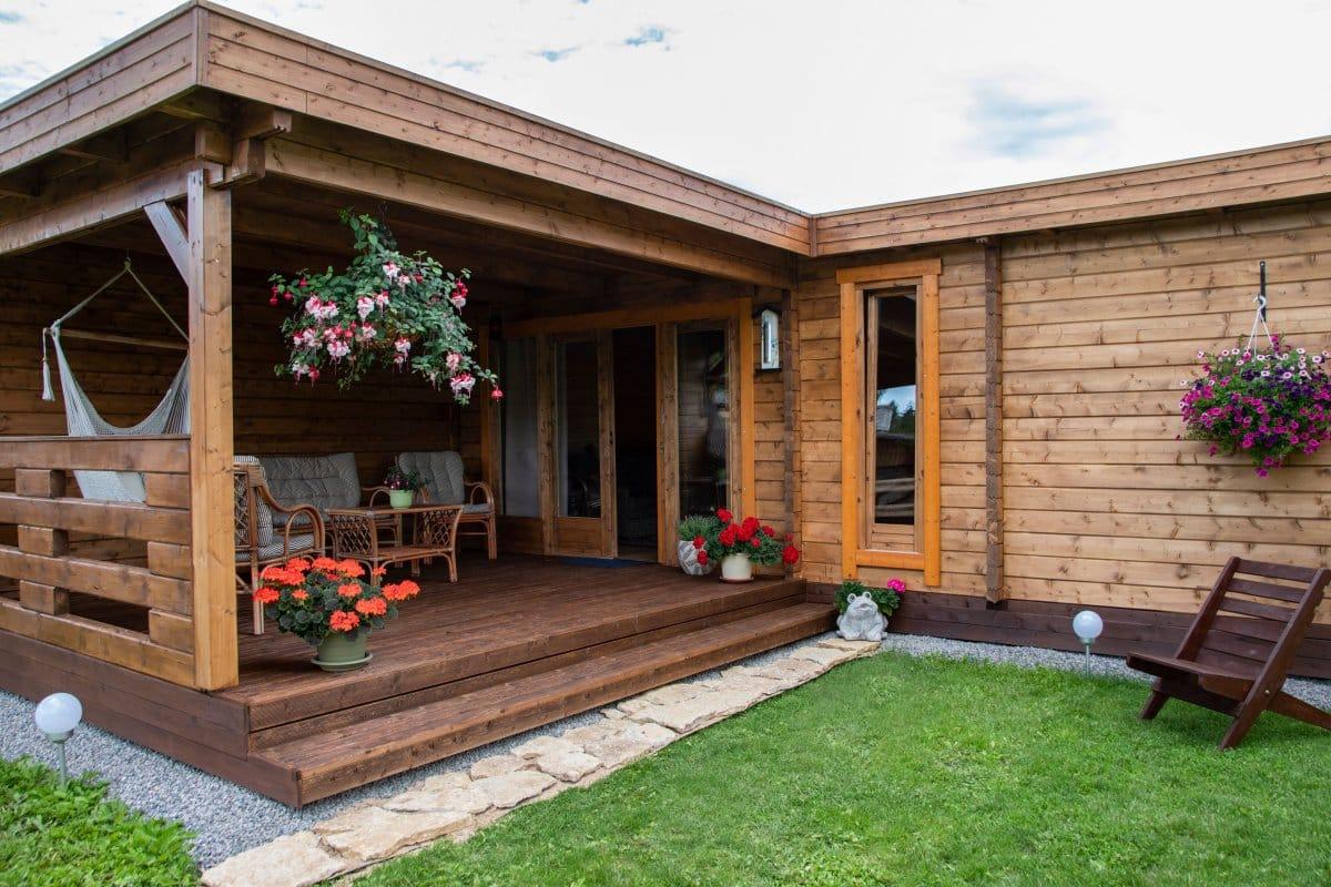 Garden Sauna Cabin A 22m2 70mm2