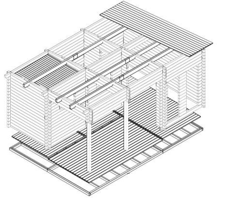 Sauna Oliver I 3D