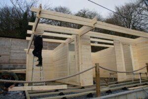 Building Garden room
