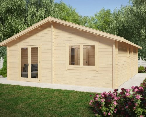 Two bedroom Log Cabin Summer House Ireland