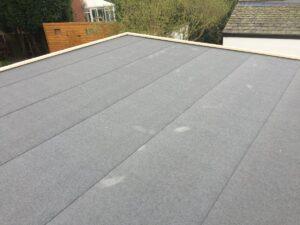 Roofing felt garden room