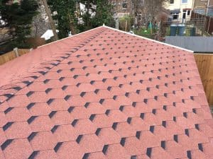 Roofing shingles summer house