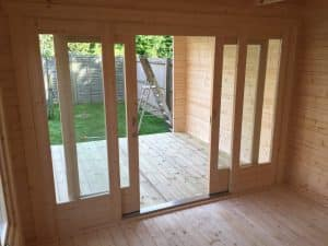Garden Room Sliding doors
