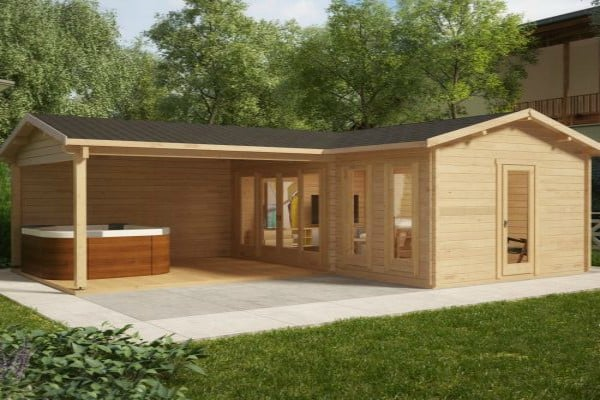 Why should you install summer house with veranda for Corner garden rooms uk