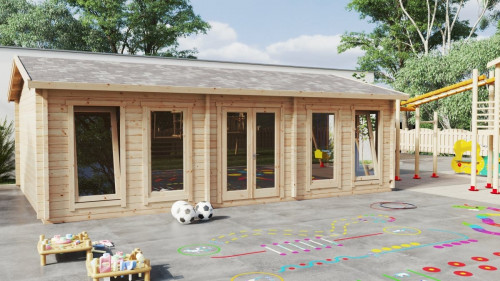 Timber Classroom Building