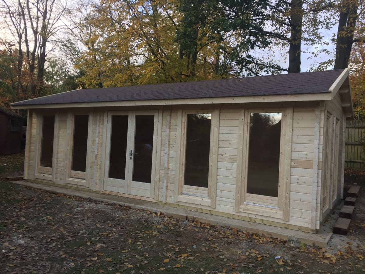 Large Garden Room C 30m 178 70mm 4 X 8 M Summer House 24