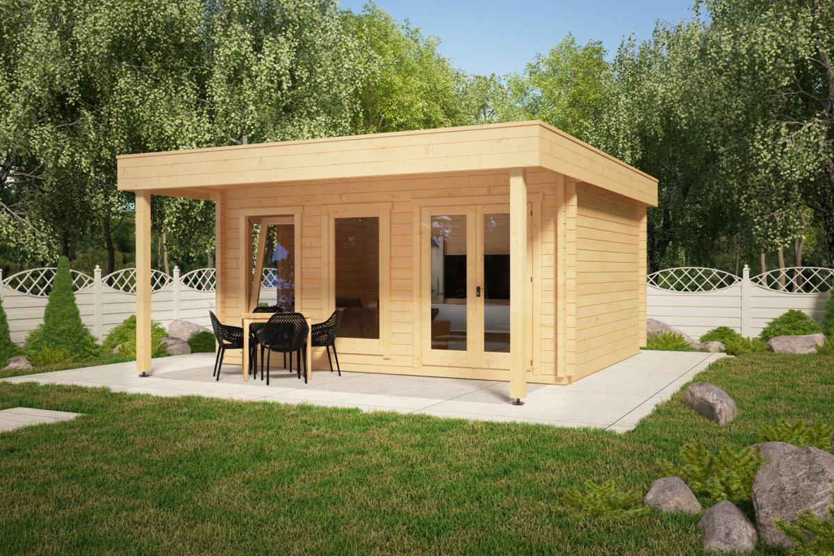 Large garden room with canopy ian e 18m 58mm 5 x 4 1 for Large garden room