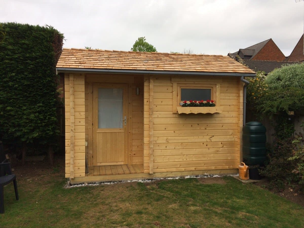 Small Garden Sauna Cabin Summer House 24