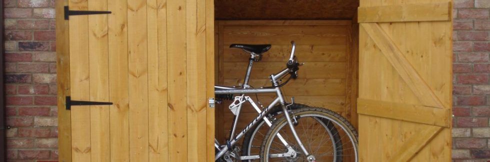 Storing the Bike in a Wooden Garden Shed – Possible Solutions