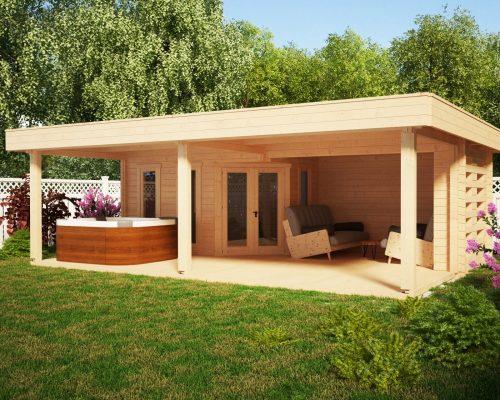 Large Garden Shelter Garden Paradise A